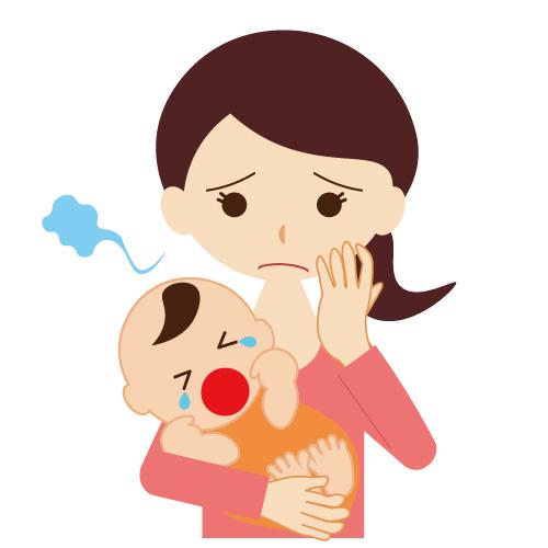 夜泣きに困っていたお母さんから口コミいただきました